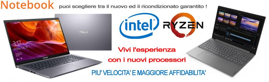 Vivi l'esperienza con i nuovi processori !
